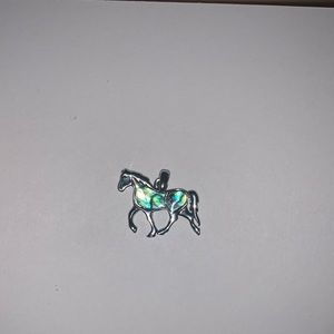 Mother of pearl horse charm